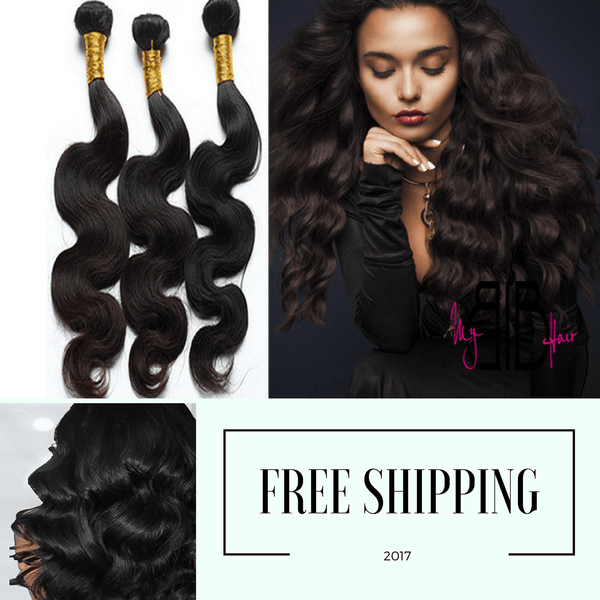 Brazilian Body Wave Hair Extensions Bundle Deal! - My BIB Hair Extensions