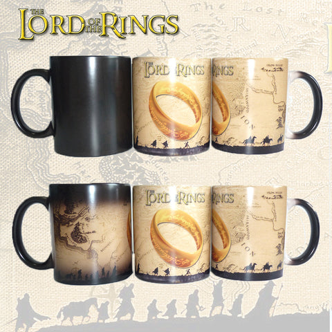 Lord Of The Rings One Ring Color Changing Mug - Cheap Online Store - 1