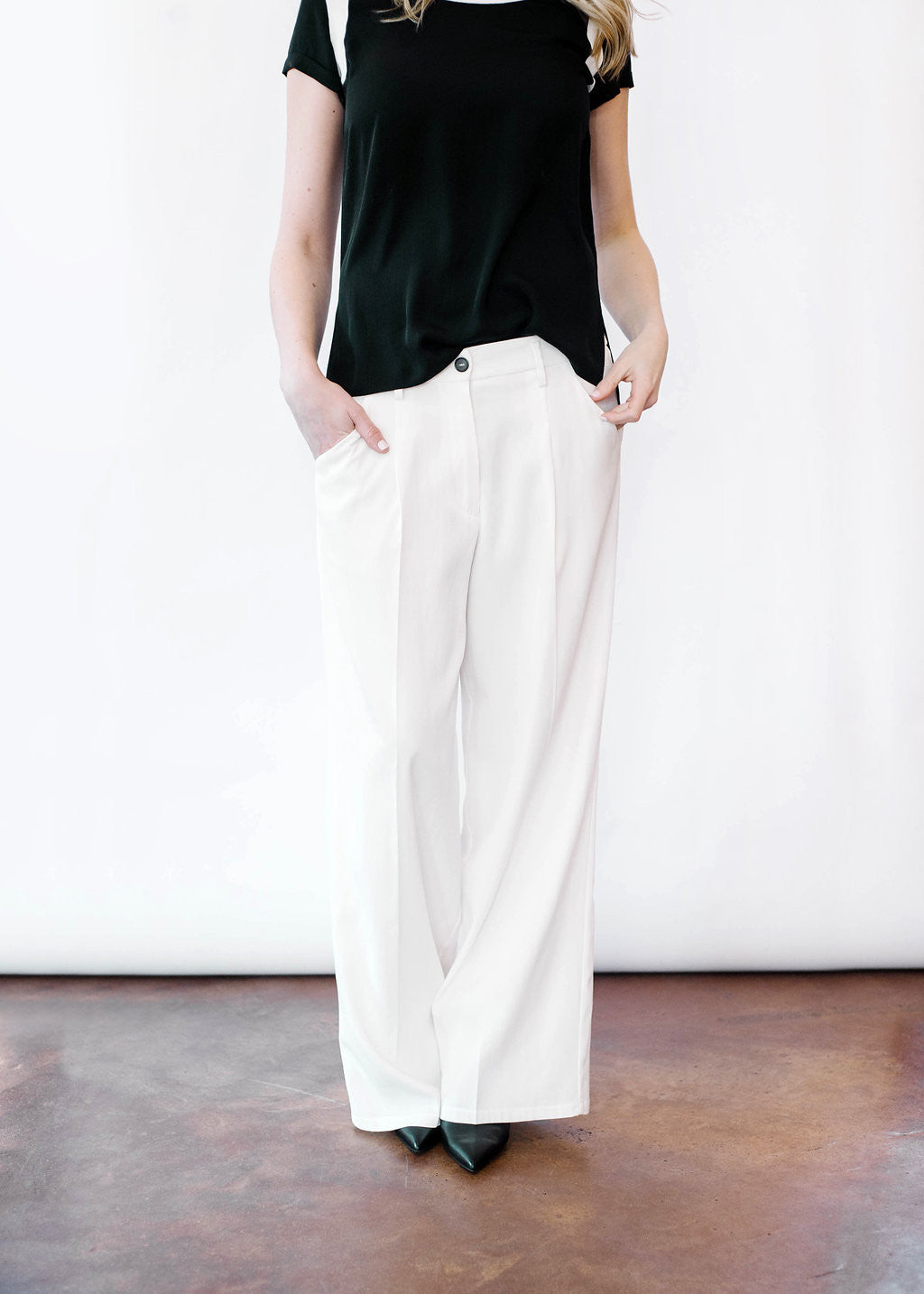 Our Style Essentials: The White Pant