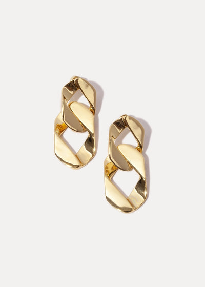 Miranda Frye Collins Earring in Gold | Tula's Online Boutique