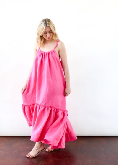 ELIZABETH Ellie Dress in Pink