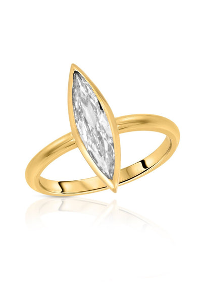 Miranda Frye Eternity Ring in Gold | Designer Boutique