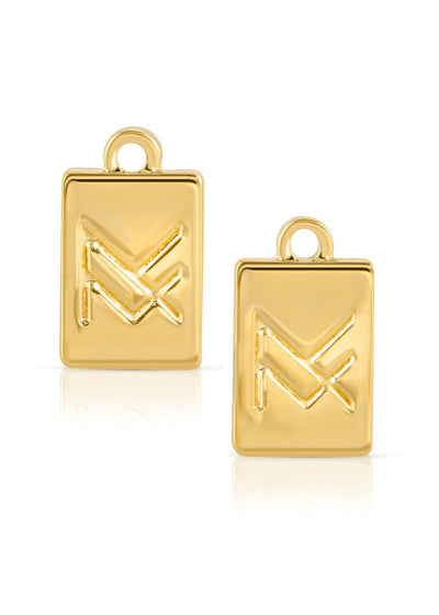 Miranda Frye MF Earring Gold Charms | Womens Boutiques