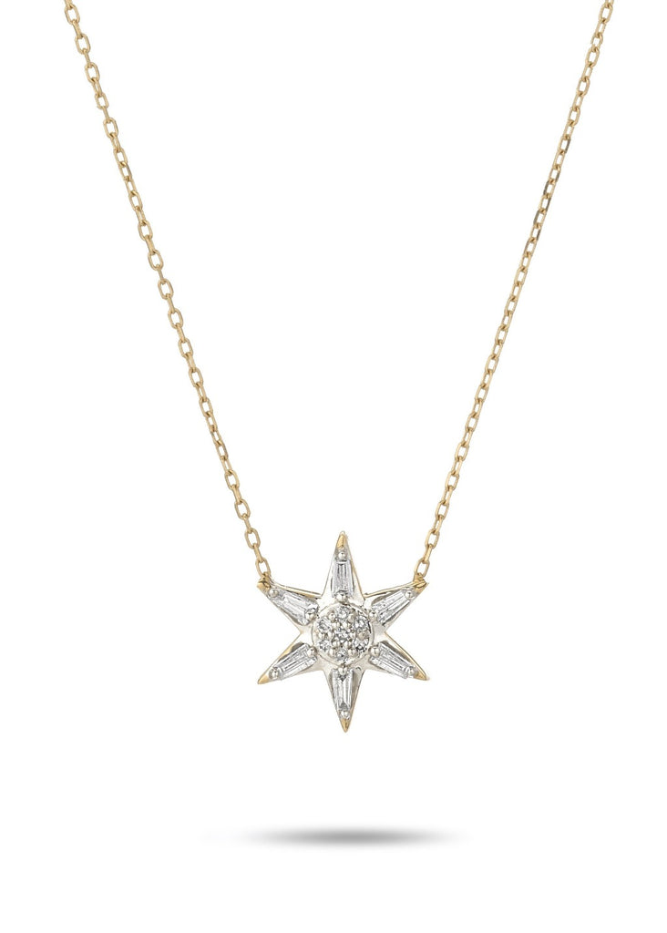 Adina Reyter Baguette Star Necklace | Tula's Online Boutique