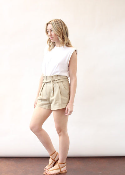 IRO Semsey Leather Short | Tula's Online Boutique