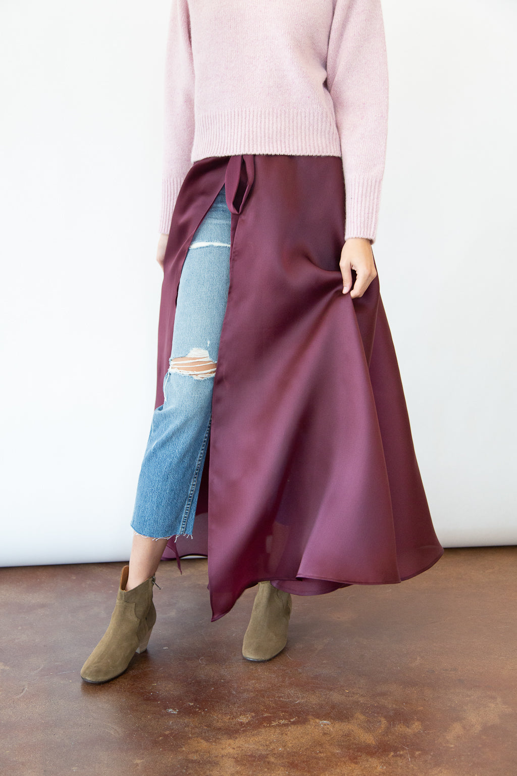 ELIZABETH Sofia Wrap Skirt - Shop Tula