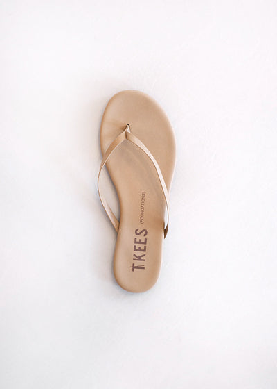 TKEES Flip Flop Foundations in Coco Butter - Tula Boutique