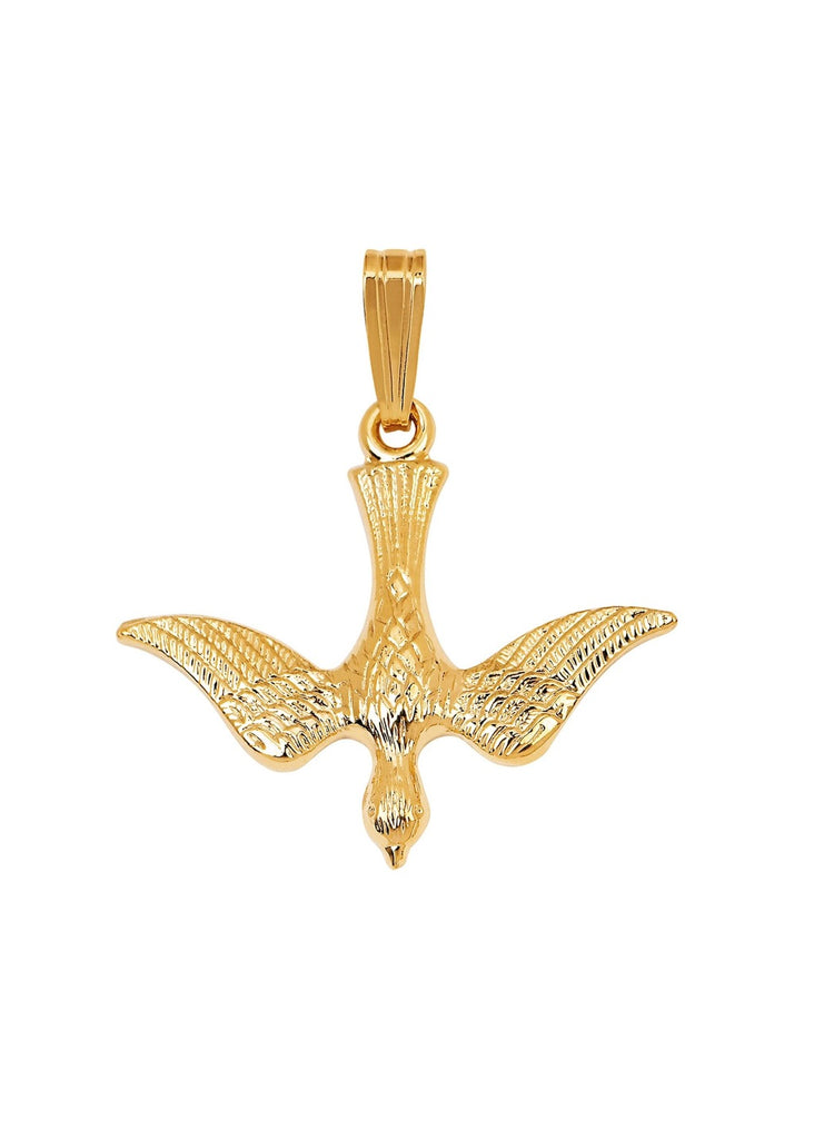 Miranda Frye Gold Peace Charm | Tula's Online Boutique