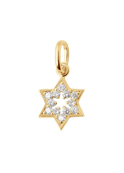 Gigi Clozeau Star of David Pendant | Tula's Online Boutique