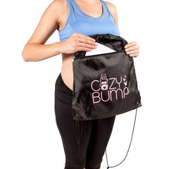 Cozy Bump Bundle - New & Improved 2019 Model - Cozy Bump, Massager, Inflator, Belly Tape, Swaddle, Cell Phone Stand Included! - Cozy Bump