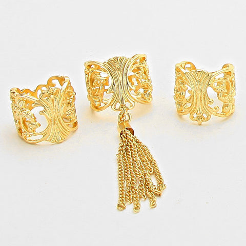 Trendy Tassel Rings