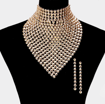 Trendy Bib Necklace