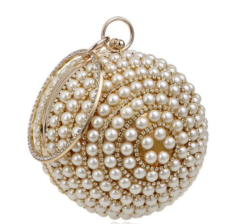 Pearls Evening Bag