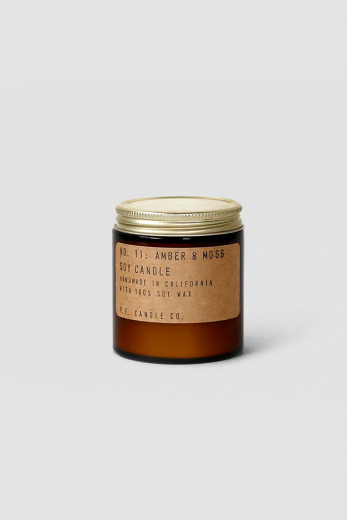 Amber & Moss P.F. Soy Candle