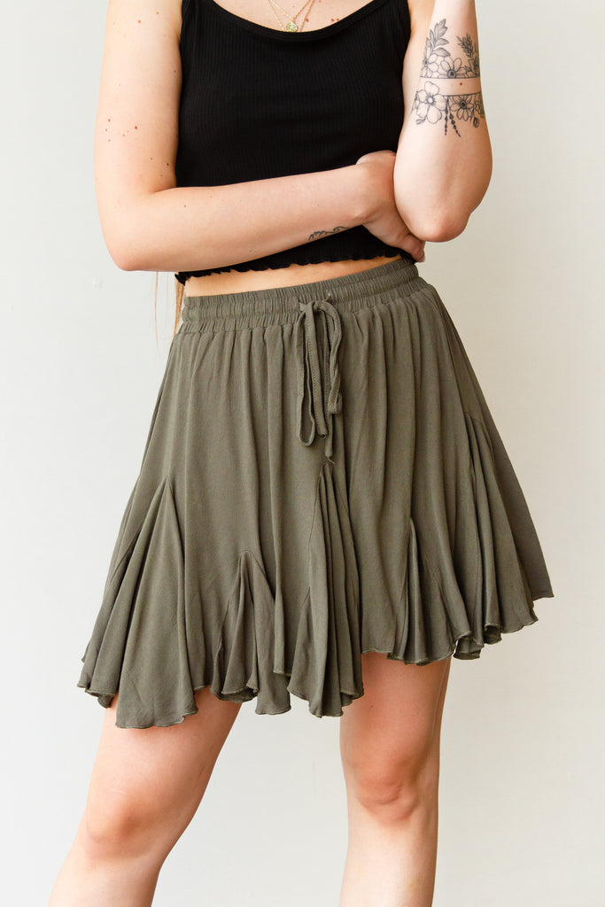 Inner Peace Flowy Skirt