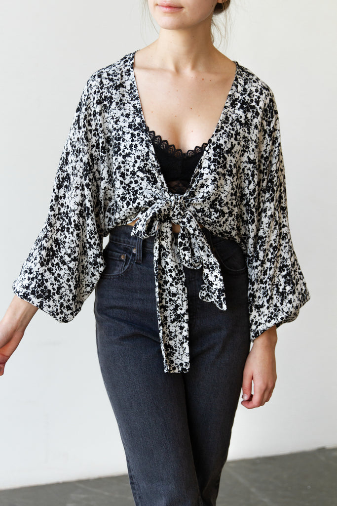 Know Me Floral Top