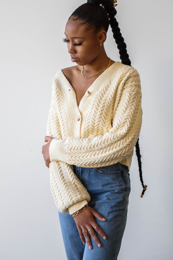Living Right Knit Cardigan