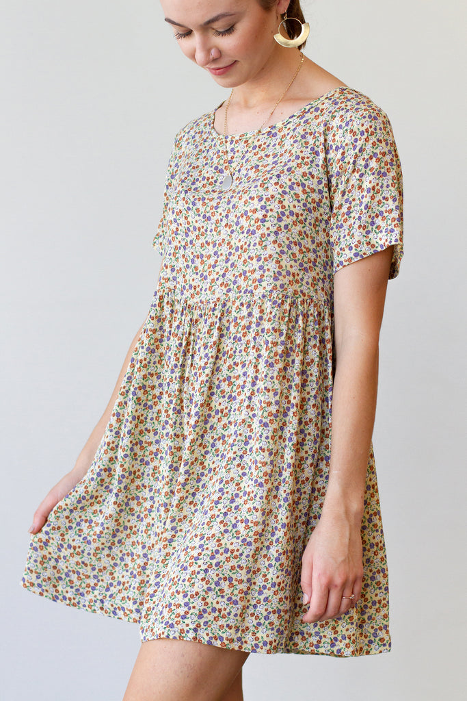 Piece By Piece Babydoll Dress