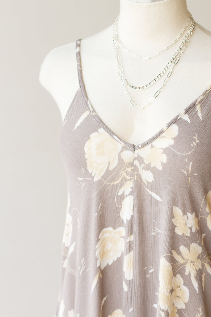 Slow Dancing Floral Maxi Dress