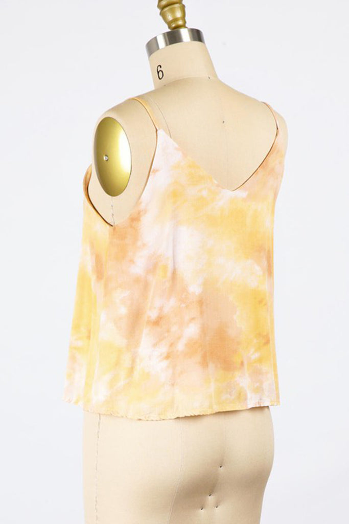 Say It Again Tie-Dye Cami Top