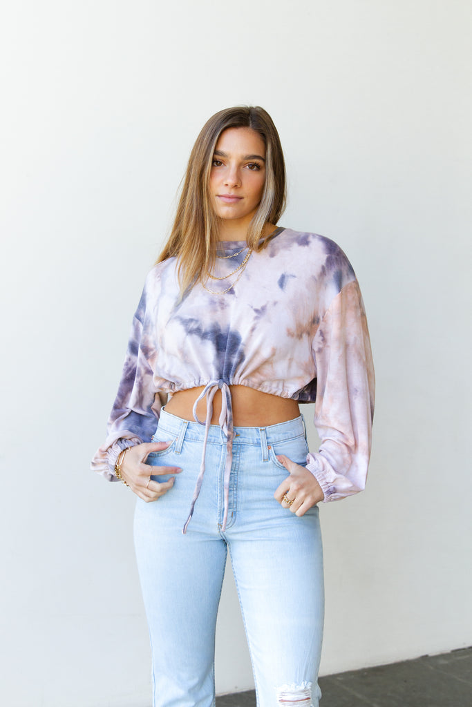 Find Yourself Tie Dye Top By For Good