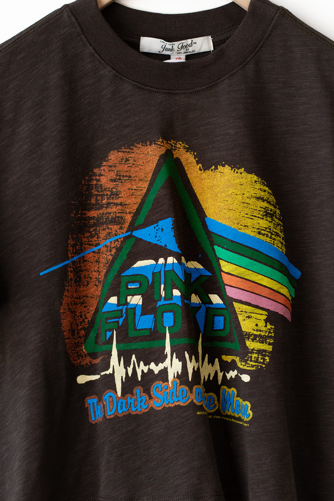 Pink Floyd Band Crop Tee
