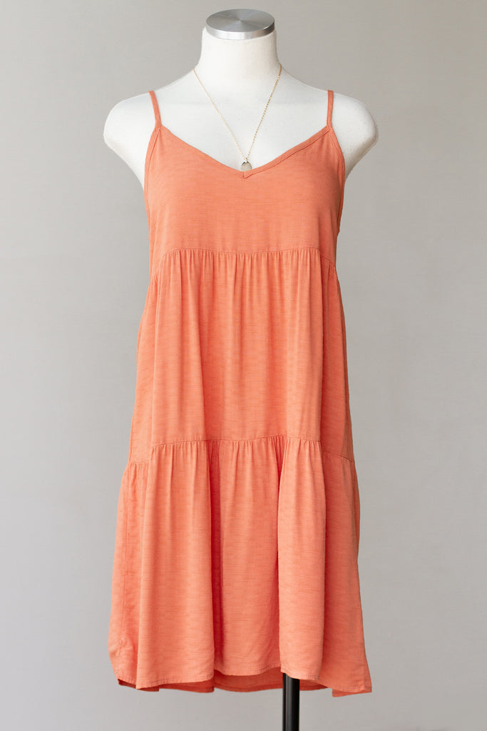 Salmon Cami Dress