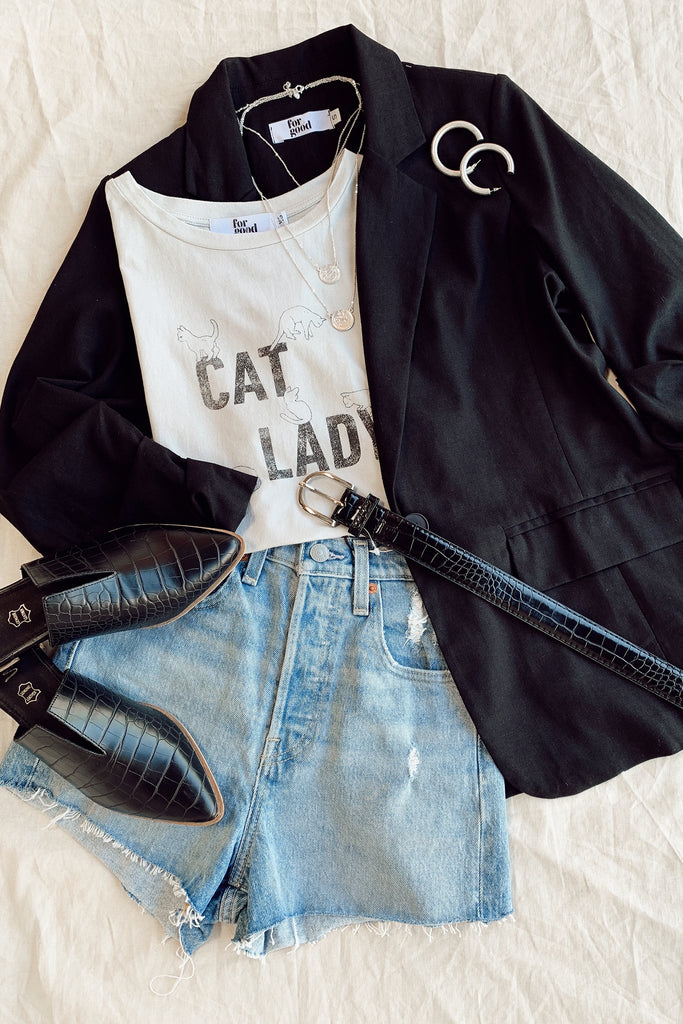 Cat Lady Graphic Tee