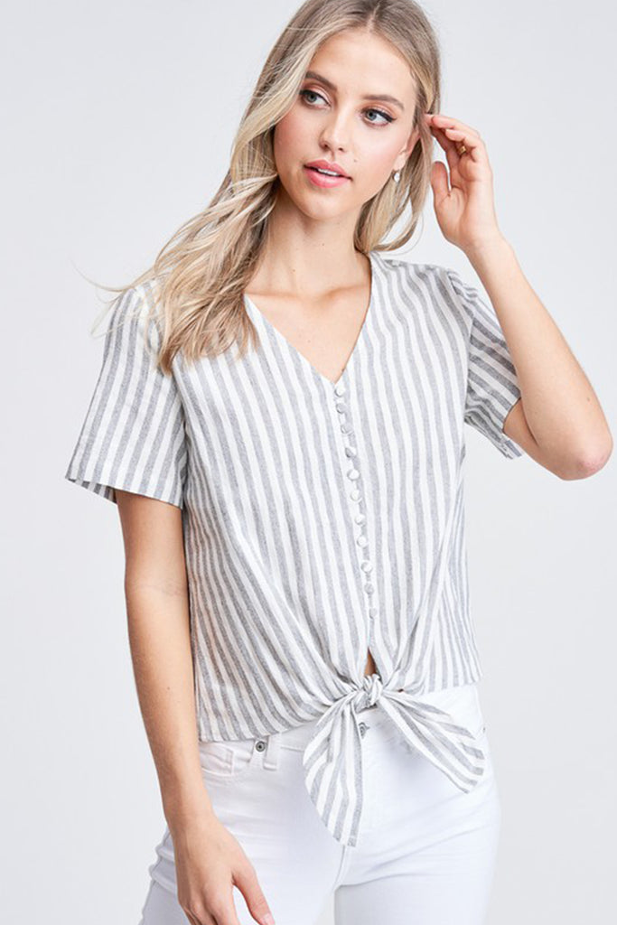 Treat You Better Striped Top