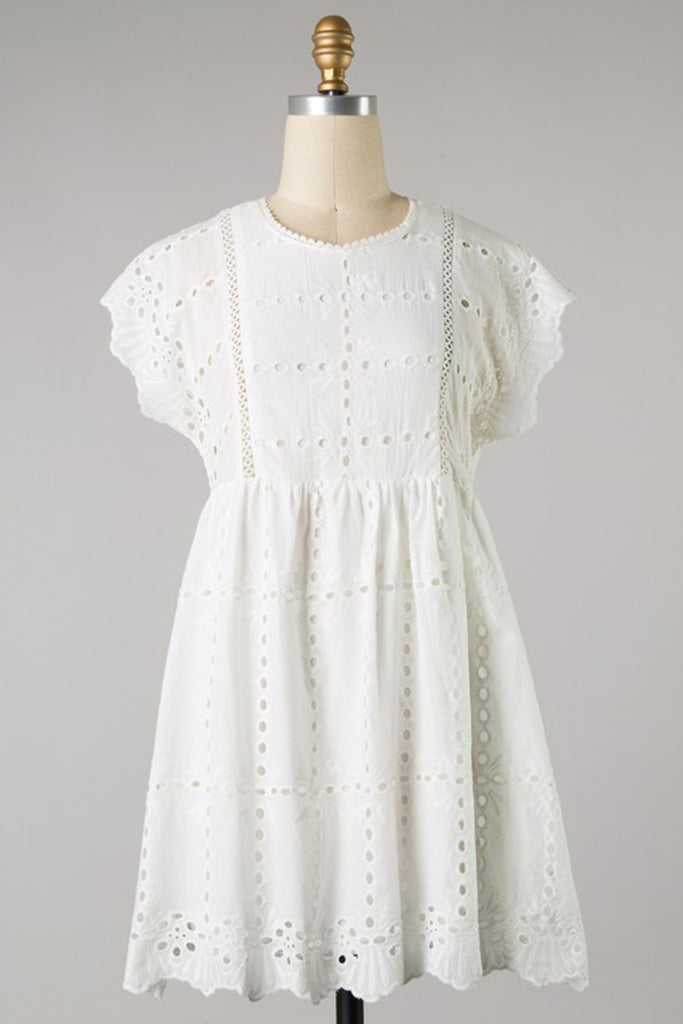 That's All I Need Eyelet Dress