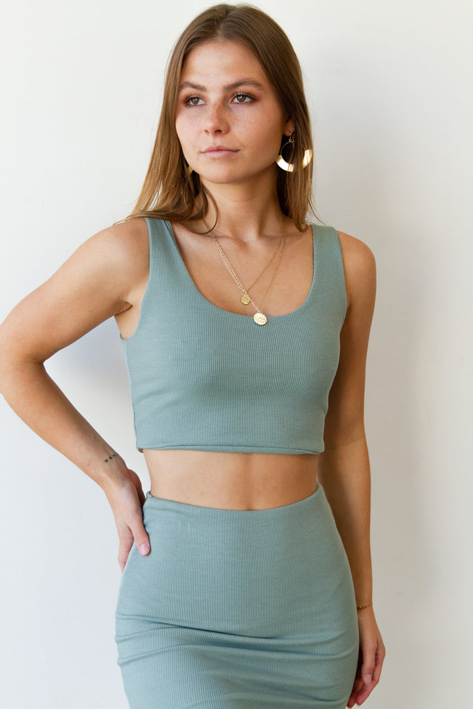 Rise Above Crop Top