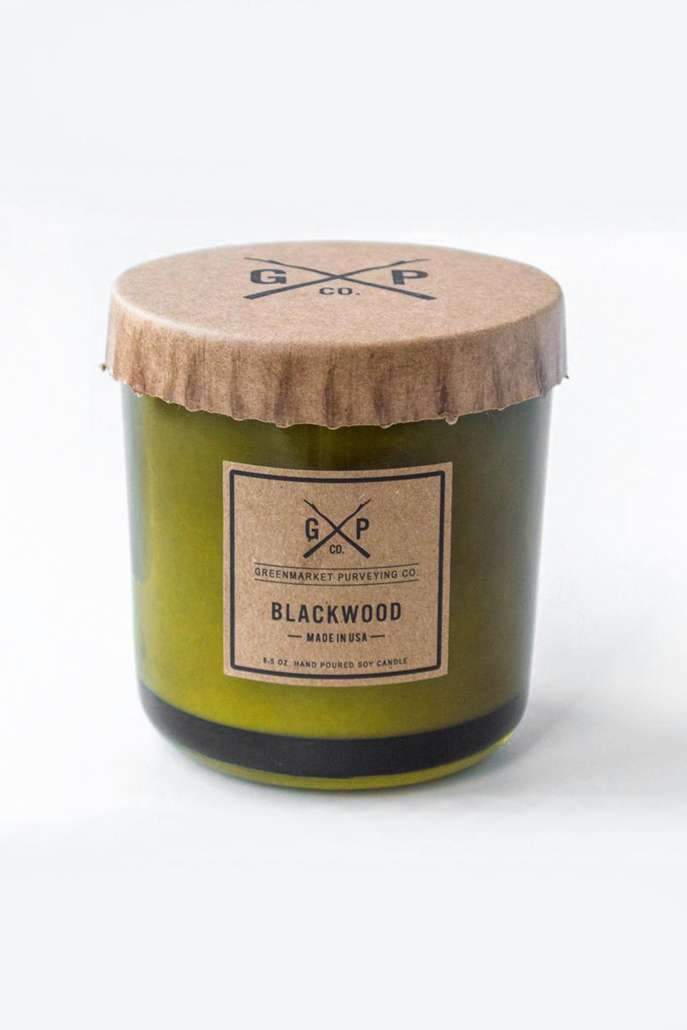 Blackwood 8.5oz Candle by Green Market