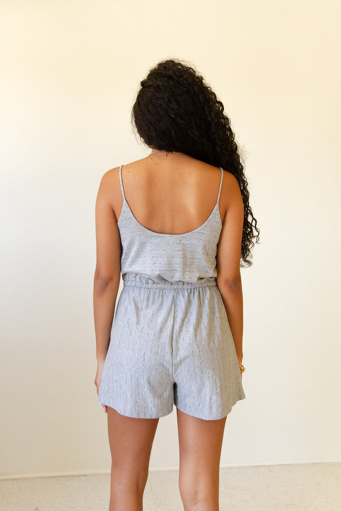 On Display Cami Romper