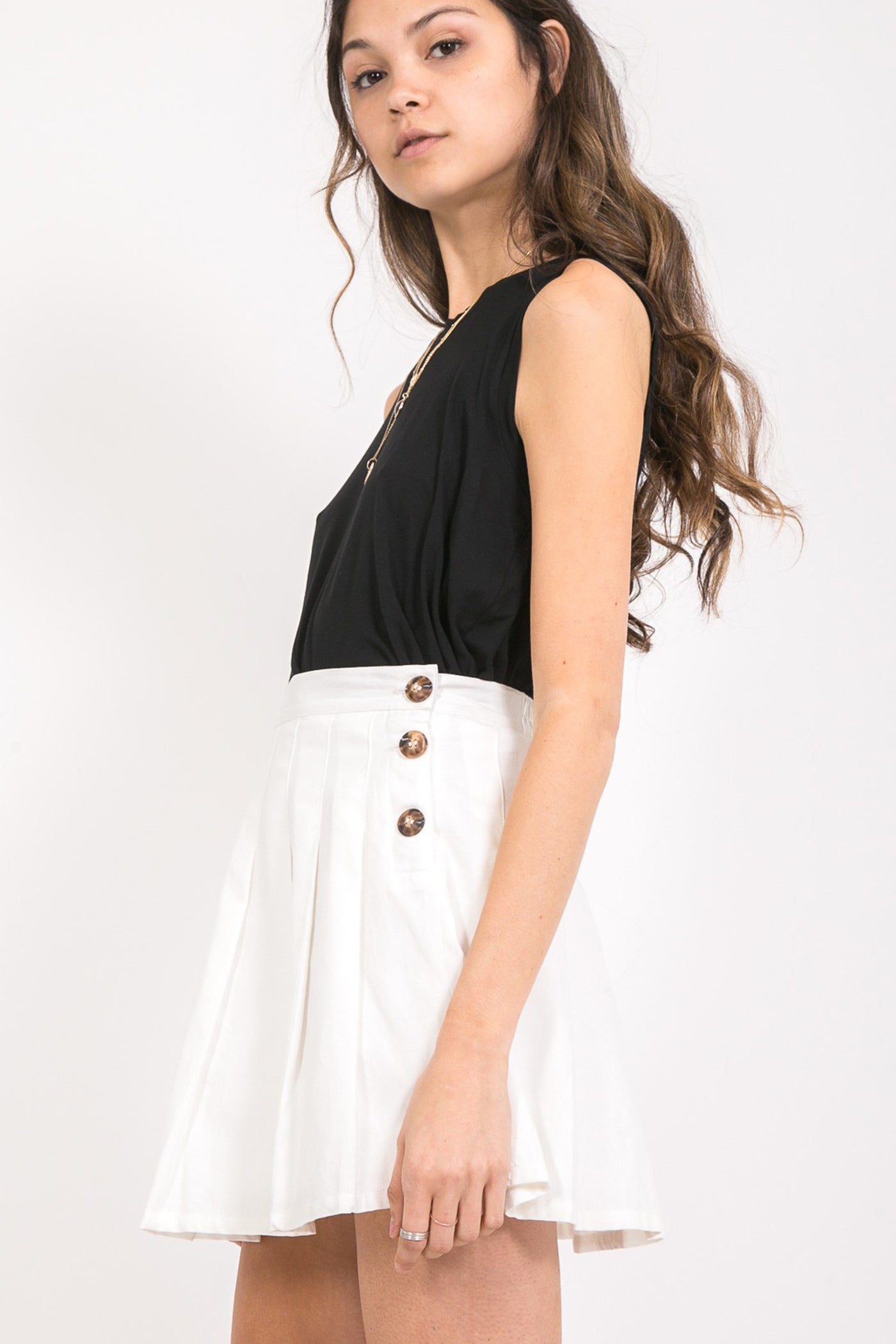 Feminine Touch Mini Skirt