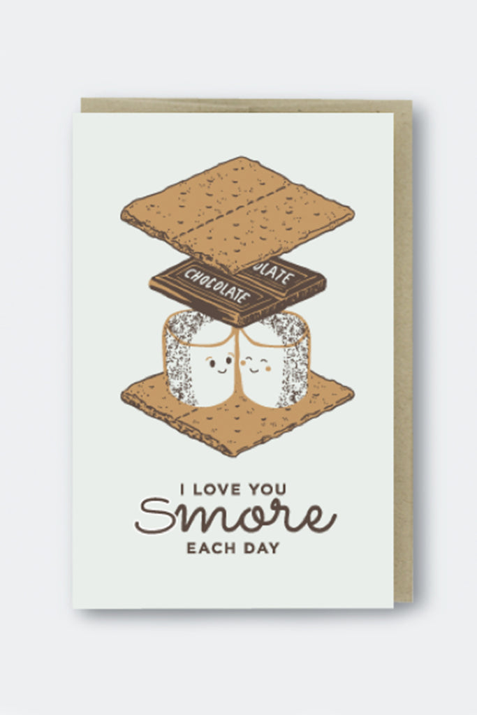 Love You Smores Greeting Card