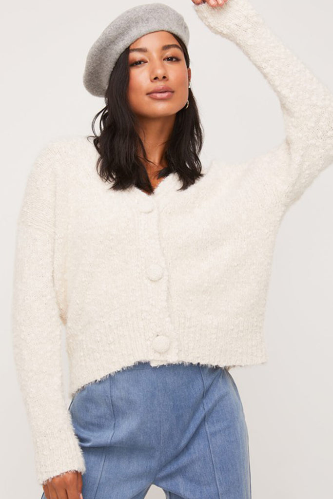 Think About Me Fuzzy Sweater By For Good