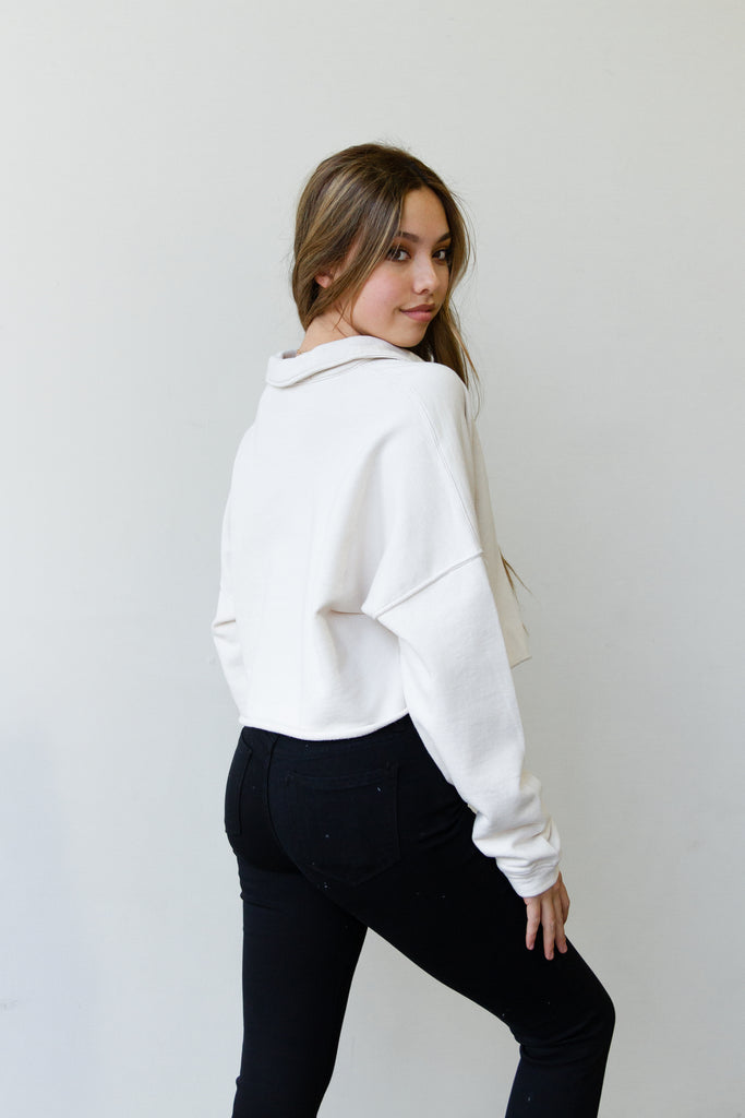 Future Hearts Cropped Sweater