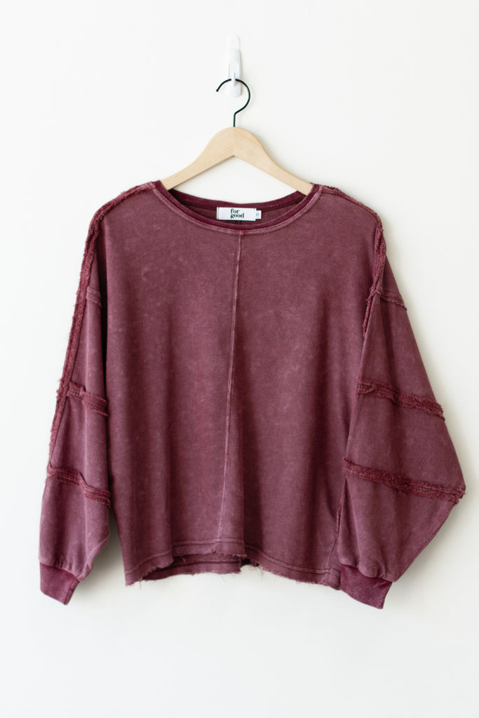 Shine On Long Sleeve Top By For Good