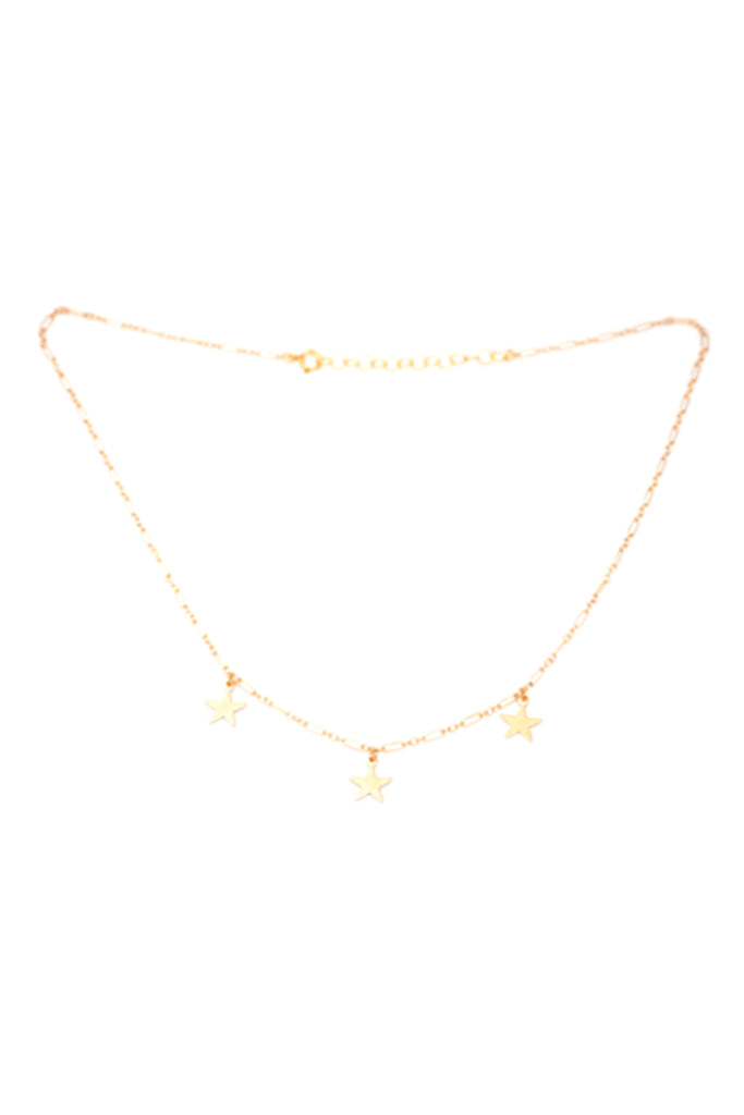 Three Star Necklace by May Martin