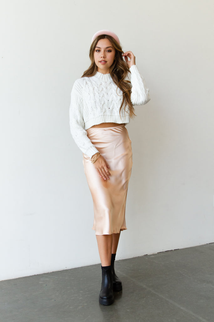 Electric Love Midi Skirt