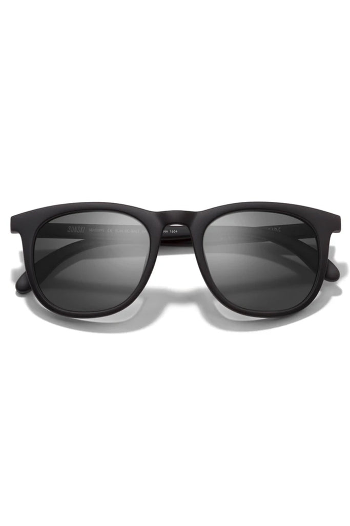 Seacliff Black Slate Sunglasses by Sunski