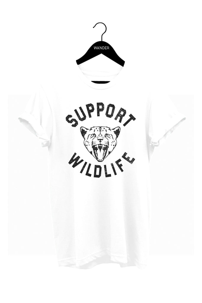 Support Wildlife Graphic Tee by For Good