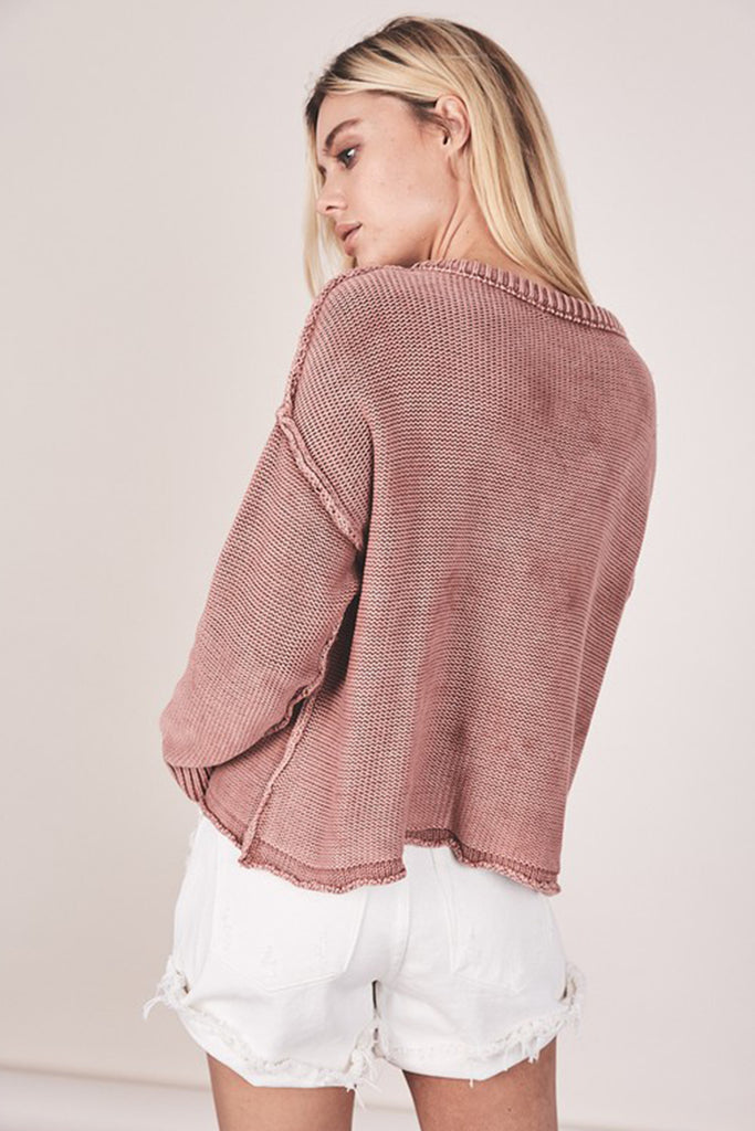 Keeping It Real Knit Sweater By For Good