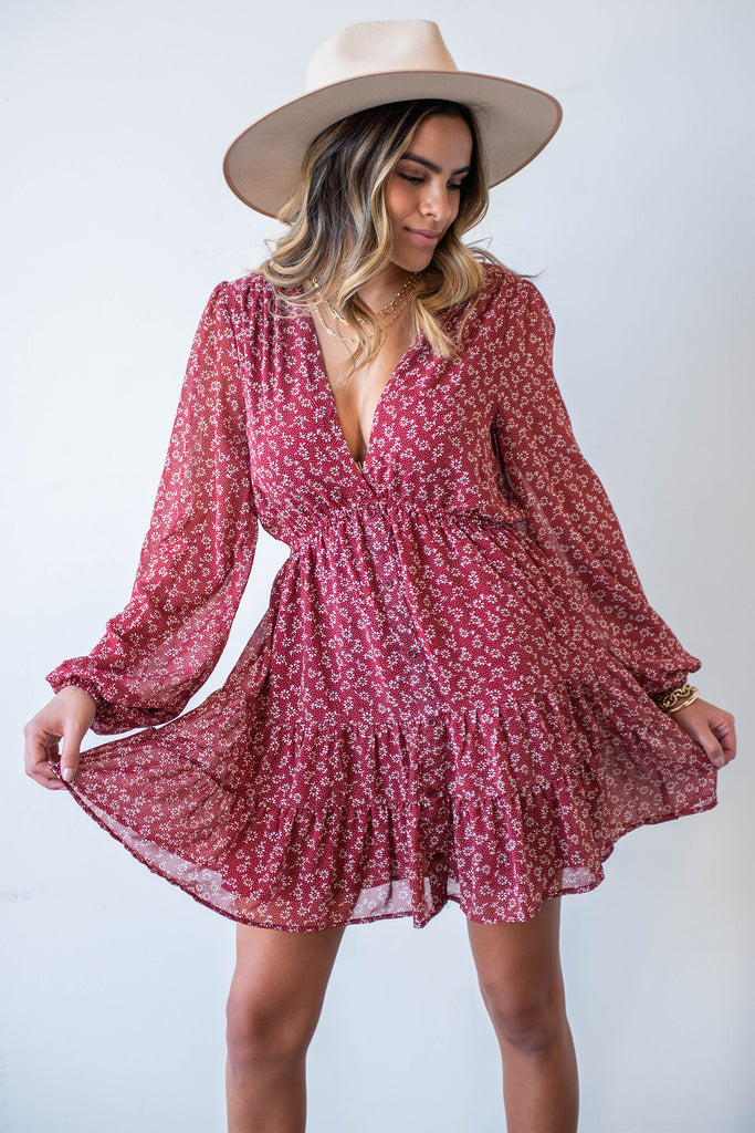 Living Free Floral Dress By For Good