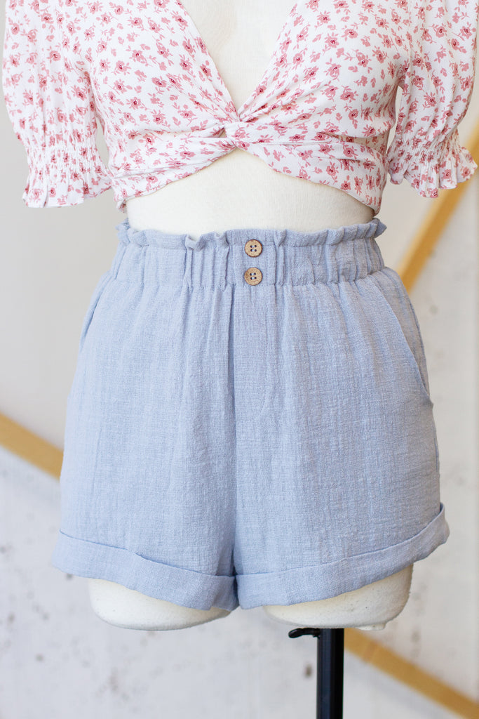 Grow Through Love High Waisted Shorts