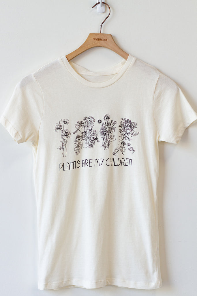 Plants Are My Children Graphic Tee