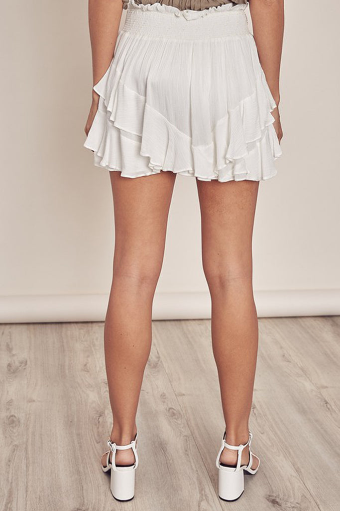 Stay Close Ruffle Skirt