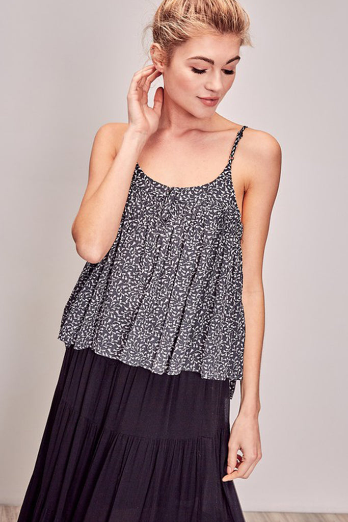 Keep Cool Floral Cami Top