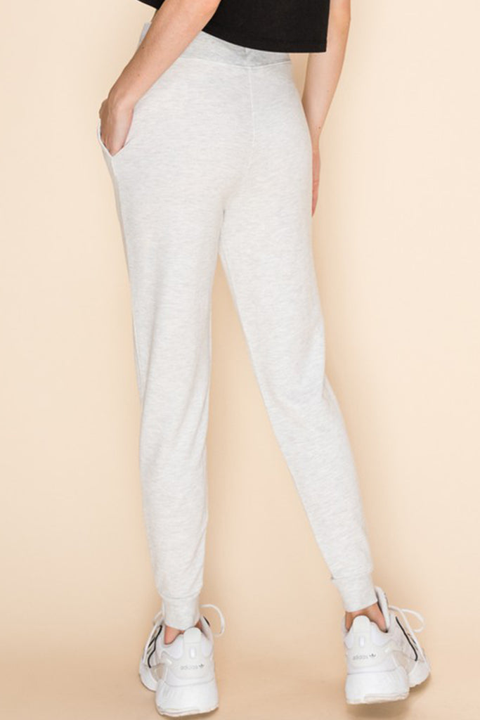 light grey jogger pants