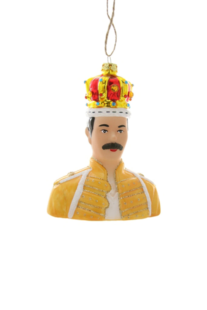 Freddie Mercury Ornament by For Good